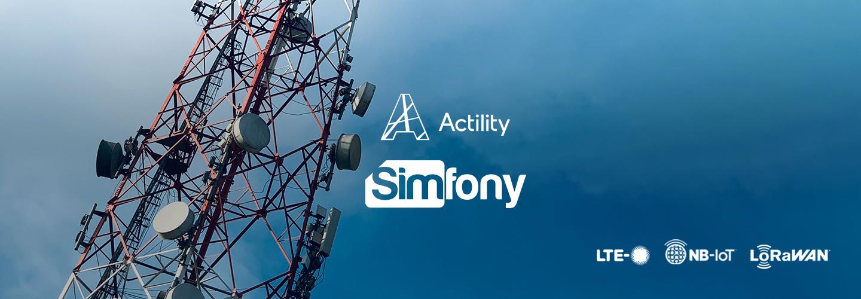 Actility and Simfony unite